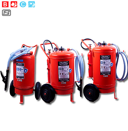 Trolley Mounted Dry Chemical Powder Type